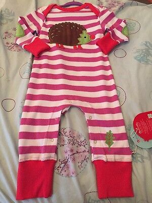 Baby Boy Girl Piccalilly Romper Playsuit 6-12 Months Bnwt