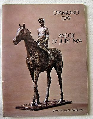 Ascot Diamond Day 1974 - Dahlia Won The The King George Ridden By Lester Piggott