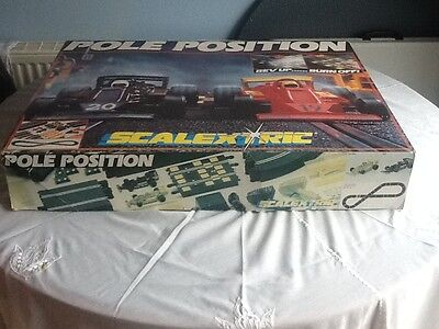Scalextric Pole  position  Rev up Burn off Very Good.  Reduced. £100  to £75