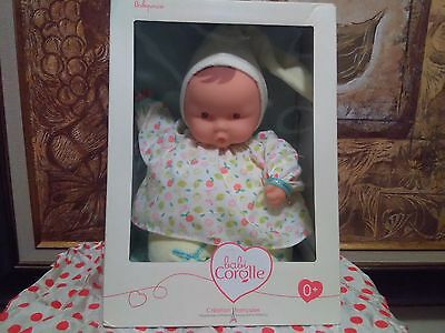 """Corolle Babipouce """"fresh Riviera"""" Sweet And Huggable Baby Doll New In Box!"""
