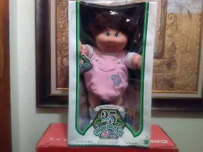 New! Cabbage Patch Kids 25Th Anniversary Doll With Birth Certificate And More