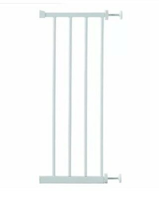 Lindam 28cm Universal Extension - white Stair Gate Extension