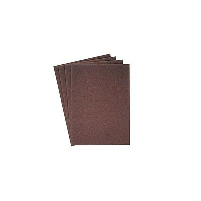 100 feuilles/coupes toile corindon KL 361 JF 115 x 280 mm Gr 40 - 73953 - Neuf