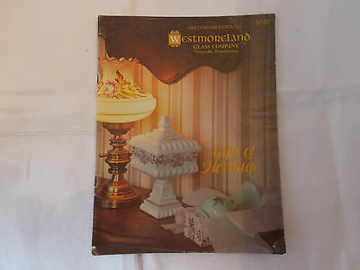 1980 Westmoreland Glass Company Catalog-Gifts of Heritage