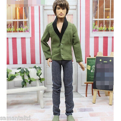 2016 Clothes Suits Coat Pants Outfits for Prince Ken Doll