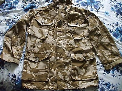 British Army Issued Desert DPM Windproof Combat Smock (size 180/104 / Large) New