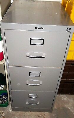 Metal Filing Cabinet 3 Drawers