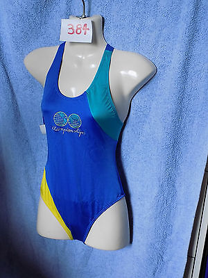 DIANIA Sport Swimming Costume Swim Suit Silvia Blue  Size 32-40 New with Tags