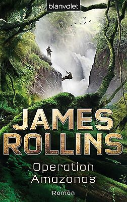 "Buch - James Rollins ""Operation Amazonas"""