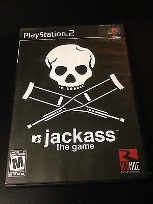 Jackass The Game Black Label Complete (Sony PlayStation 2)