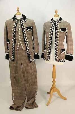 Vintage Pearly King Costumes