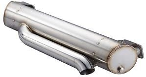 Vintage Speed Hidden Tail Pipe Super Flow Exhaust for Baywindow Bus up to 2400