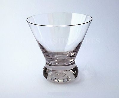 6 New Unbreakable Cosmo Cocktail Glasses 240ml Guaranteed High Quality BPA FREE