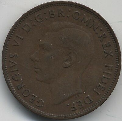 1950 George VI One Penny***Collectors***Key Date***(4)