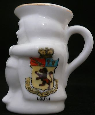 Arcadian Crested Ware 'Model of Toby Jug' - Louth Crest