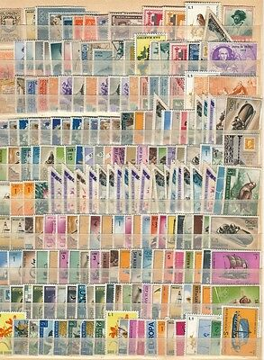 Collection Of Early Republic Of San Marino Good Used With M.mint
