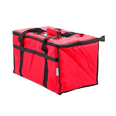 Insulated Food Delivery Bag Pan Carrier (Red) 2-Day Ship