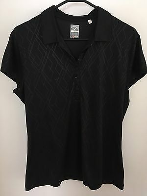 Callaway Ladies Golf Shirts. Size L(AU12). Black. Worn Twice, Great Conditions!