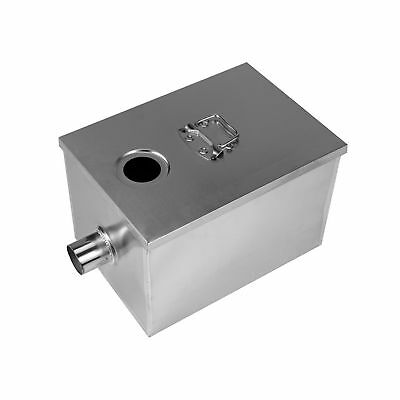 BEAMNOVA Commercial 8LB Grease Trap for Restaurants 5GPM Gallons Per M... NO TAX