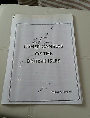 Fisher Ganseys for the machine.  please see description and photos
