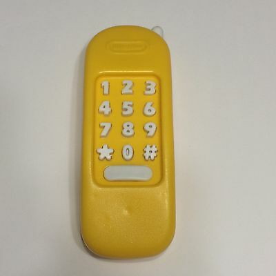 LITTLE TIKES replacement PART YELLOW PHONE Kitchen Workshop House TELEPHONE rare