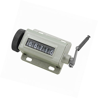 Hand Tally 5 Digit Number Mechanical Arithmometer Counter