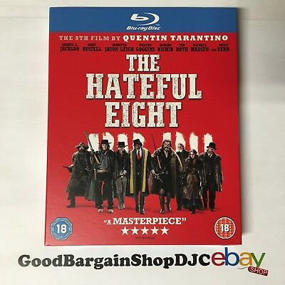 The Hateful Eight (Blu-ray, 2015) *New & Sealed*