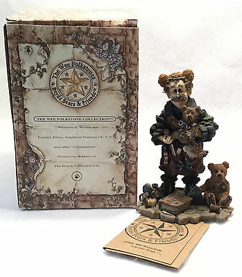 c.1997 BOYDS Wee Folkstones Collection T.H. Bean - The Bearmaker No.36400 w/ BOX