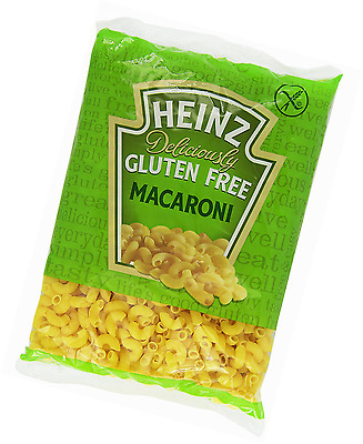 Heinz Deliciously Gluten Free Macaroni Pasta 500g, No Preservatives - Pack of 6
