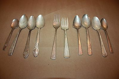 Lot Eastern Airlines Hotel spoon fork waldorf Astoria Fairmont reed & barton