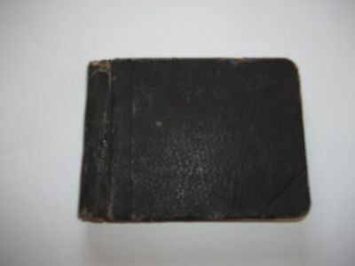 Autograph Book With Mottos,sayings,famous Quotes Etc From 1920S