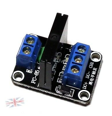 DC 5V 1 Channel SSR Solid-State Relay module High Level Trigger 2A for arduino