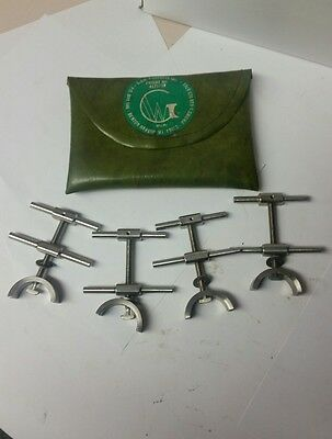 G&W Stainless Pipe Alignment Clamp Set Of 4 Tig Heliarc