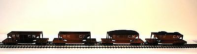 Hornby Triang R111 Canadian National Hopper Cars W/ Distressed Finish