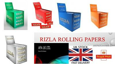 Rizla Red/green/silver/blue/liqourice Cigarette Rolling Genuine Papers Regular