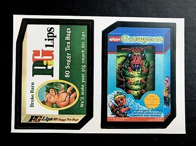 Topps Wacky Packages LOST WACKYS Series 1 REPLACEMENT PACK Double Strip