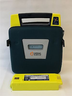 Cardiac Science PowerHeart AED G3 Defib - Fully Working With Pads + Battery