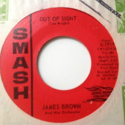 James Brown-Out Of Sight/maybe The Last Time-Smash. S-1919. Vg+