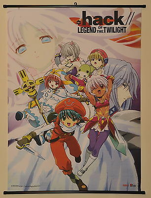 """dot. hack// Legend of the Twilight Cloth Wall Scroll Large 31""""x43"""""""