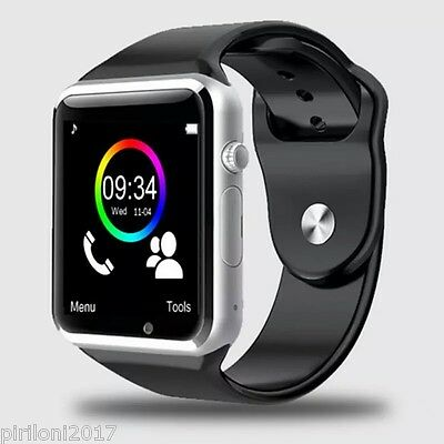 Smartwatch A1, Smartuhr, Uhrband, Armbanduhr, Smart Watch Android/iphone Apple