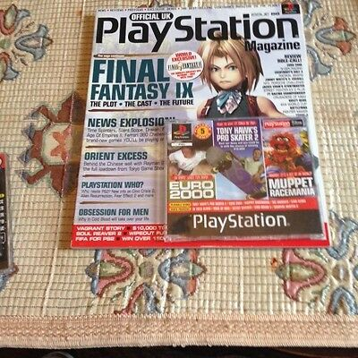 Official Uk Playstation Magazine Issue Number 59
