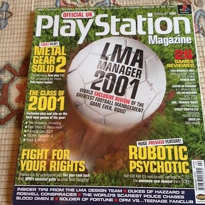Official Uk Playstation Magazine Issue Number 68