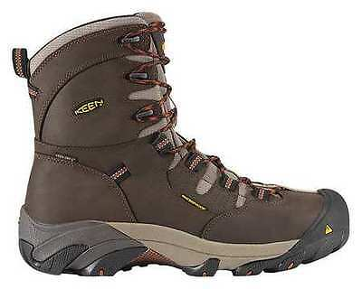 Size 11-1/2 Work Boots, Men's, Brown, Steel Toe, EE, Keen Utility
