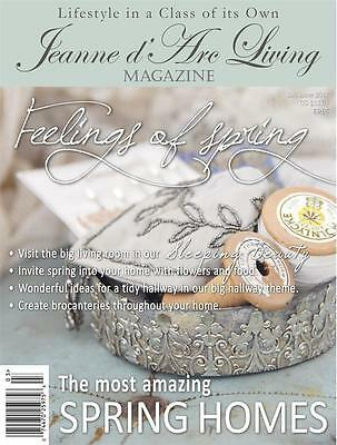 I SHIP TODAY! MARCH 2017 Jeanne d'Arc Living MAGAZINE #3 Vintage/Style