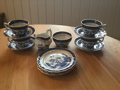 Lovely Real old willow tea set