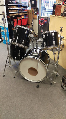Pre-owned Pearl Drum Kit with some hardware