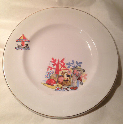 Vintage Magic Roundabout Plate thought to be from the 60's