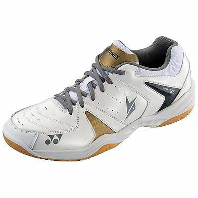 Yonex Power Cushion SHB40LD Badminton Shoes - White
