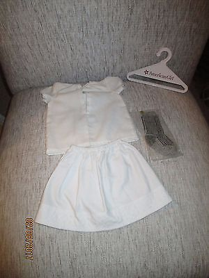 Retired American Girl Doll Kirsten's Complete Flannel Underwear Set Very Nice PC