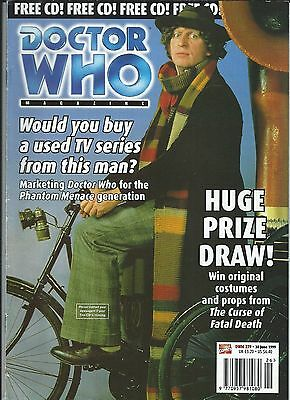 Doctor Who Magazine Number #279 30 June 1999 Marvel Magazines Good Condition